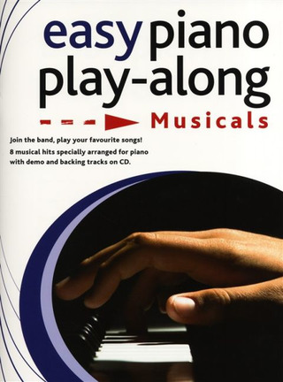 Easy Piano Play-Along: Musicals