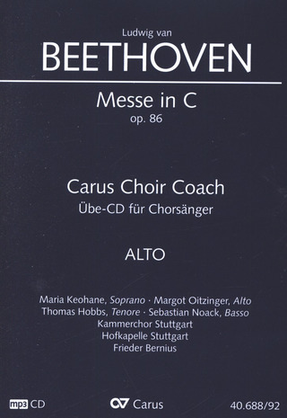 Ludwig van Beethoven: Messe C-Dur op. 86 – Carus Choir Coach