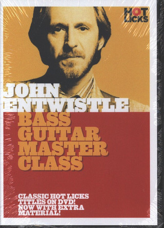 John Entwistle: Hot Licks: John Entwistle – Bass Guitar Master Class