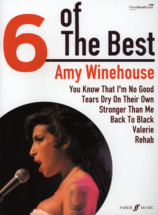 Amy Winehouse: 6 of The Best – Amy Winehouse