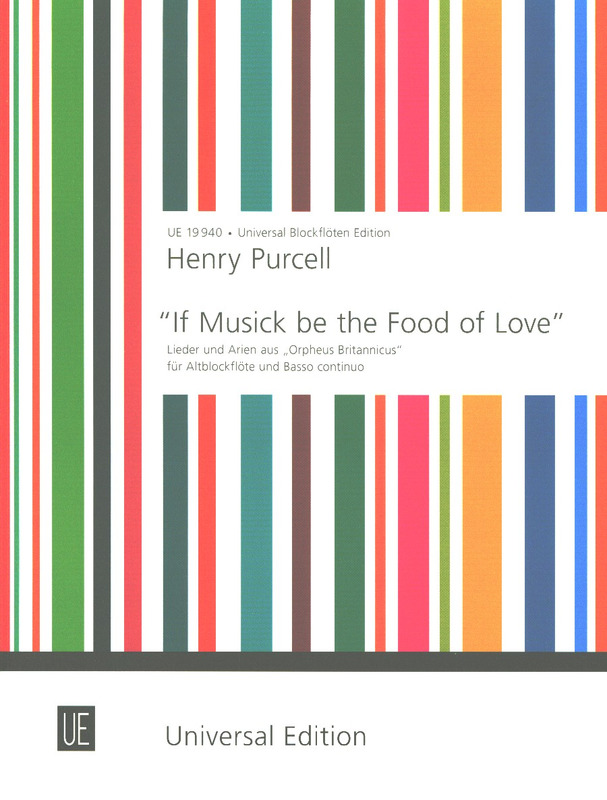 "Henry Purcell: ""If Musick be the Food of Love"""