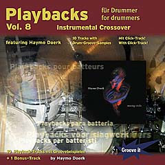 Haymo Doerk: Playbacks für Drummer 8