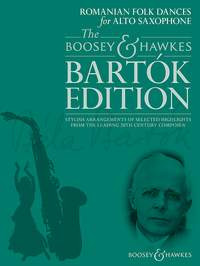 Béla Bartók: Romanian Folk Dances for Alto Saxophone