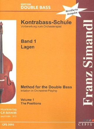 Franz Simandl: Method for the Double Bass