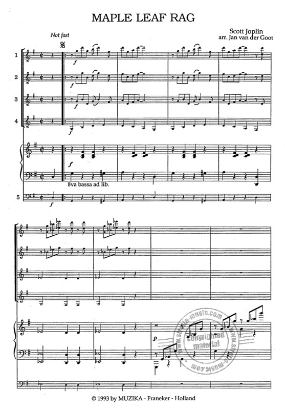 Scott Joplin: Maple Leaf Rag (1)