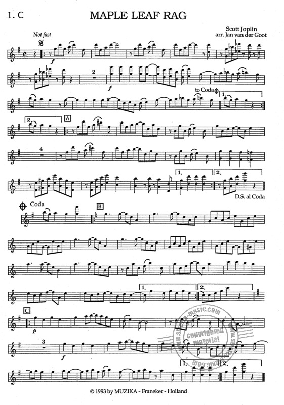 Scott Joplin: Maple Leaf Rag (3)