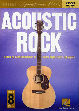Acoustic Rock Guitar Signature Licks Gtr Dvd