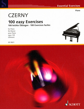 Carl Czerny: 100 easy Exercices op. 139