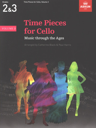 Time Pieces for Cello - Music through the Ages - 2