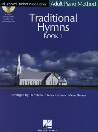 HL Student Piano Method: Adult Piano Method - Traditional Hymns Book 1