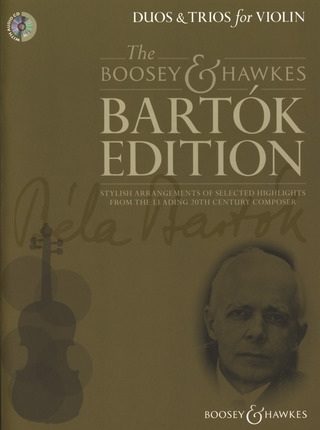 Béla Bartók: Duos & Trios for Violin