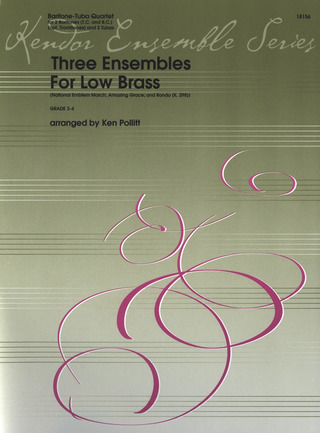 Three Ensembles For Low Brass