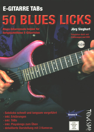 Jörg Sieghart: 50 Blues-Licks