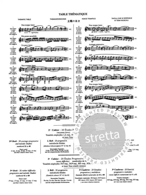 20 Études progressives et mélodiques 1 from Paul Jeanjean