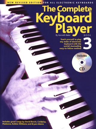 Kenneth Baker: Complete Keyboard Player Book 3 2003 Revised Edition Bk/Cd