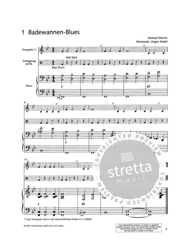 Die Frohliche Trompete Von Werner Michael Im Stretta Noten Shop