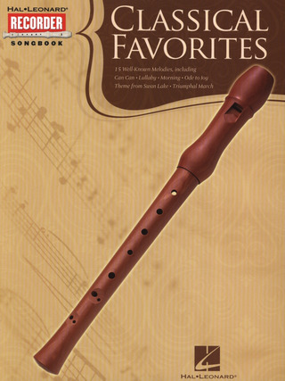 Classical Favorites: Recorder Songbook