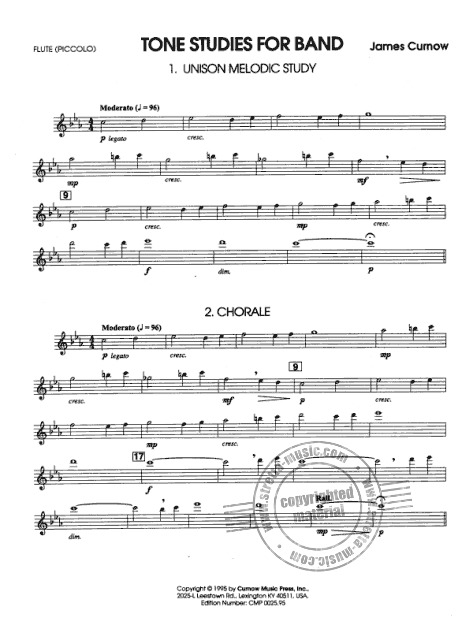 James Curnow: Tonstudies for Band (2)
