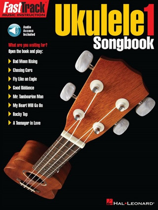 FastTrack Ukulele Songbook: Level 1 (Book/Online Audio)