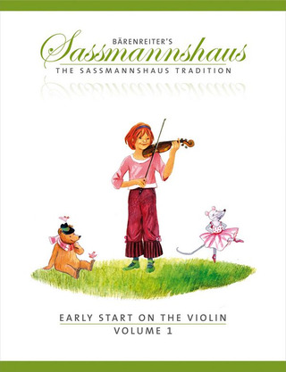Egon Saßmannshaus et al.: Early start on the violin 1