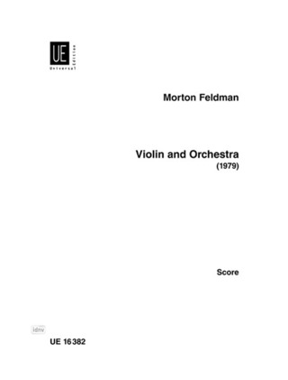 Morton Feldman: Violin and Orchestra