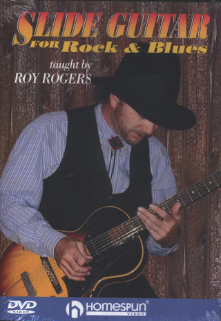 Richard Rodgers: Rodgers Slide Guitar For Rock & Blues Dvd