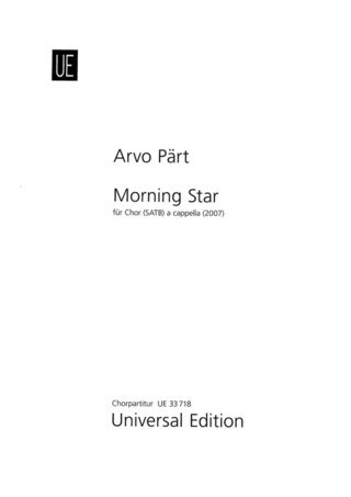 Arvo Pärt: Morning Star