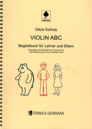 Géza Szilvay: Colourstrings Violin ABC