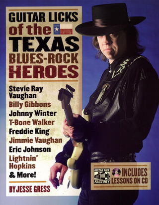 Jesse Gress: Guitar Licks of the Texas Blues-Rock Heroes