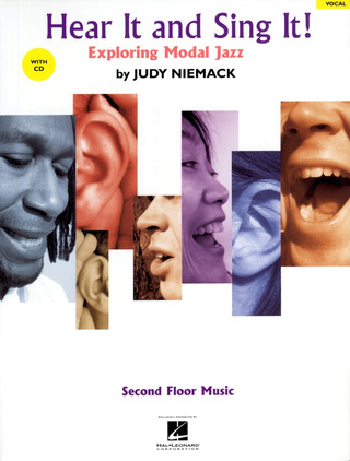 Niemack Judy: Hear It And Sing It! - Exploring Modal Jazz Vce Book / Cd
