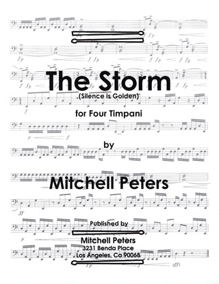 Mitchell Peters: The Storm (Silence Is Golden)