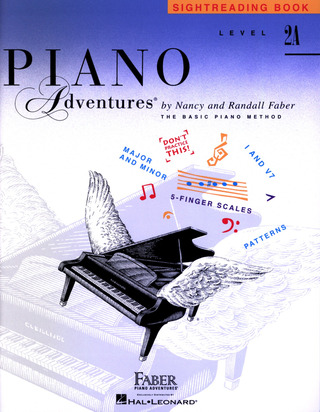 Randall Faber et al.: Piano Adventures: Sightreading Book - Level 2A