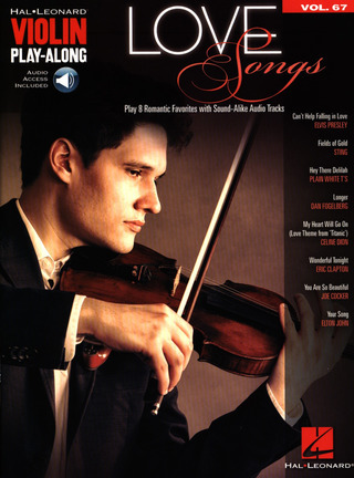 Violin Play-Along 67: Love Songs