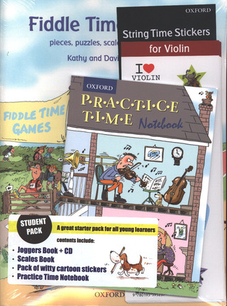 David Blackwell et al.: Fiddle Time Student Pack