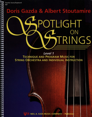 Gazda Doris + Stoutamire Albert: Spotlight On Strings 1