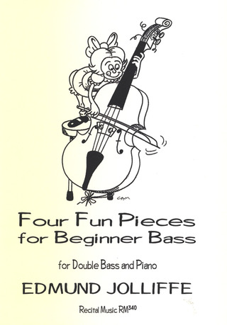 Jolliffe Edmund: 4 Fun Pieces for Beginner Bass