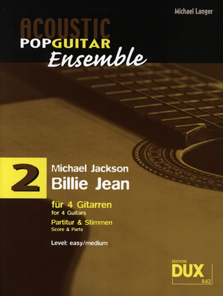 Michael Jackson: Acoustic Pop Guitar Ensemble 3: Billie Jean