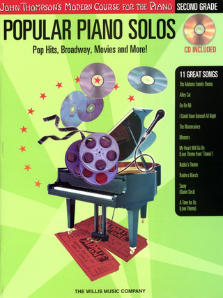 Popular Piano Solos: 2Nd Grade - Pop Hits, Broadway, Movies And More!