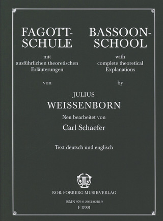 Julius Weissenborn: Bassoon-School