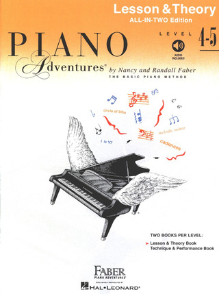 Nancy Faber m fl.: Faber Piano Adventures – Level 4-5 Lesson & Theory
