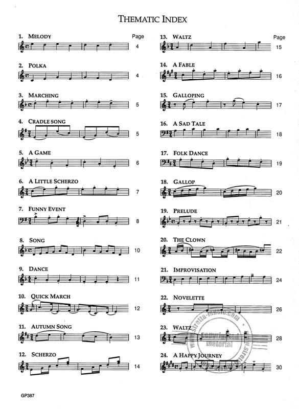 Dmitri Kabalewski: 24 Little Pieces Opus 39 (1)