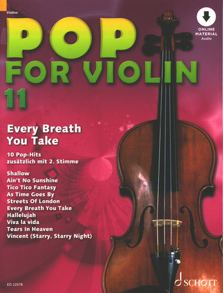 Pop for Violin 11