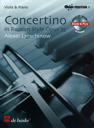 Janschinow Alexej: Concertino Op 35 In Russian Style