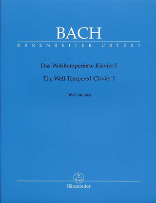 Johann Sebastian Bach: The Well-Tempered Clavier I