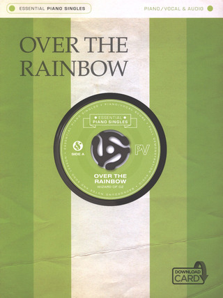 Harold Arlen: Essential Piano Singles: Over The Rainbow From 'Wizard Of Oz' (Single Sheet/Audio Download)