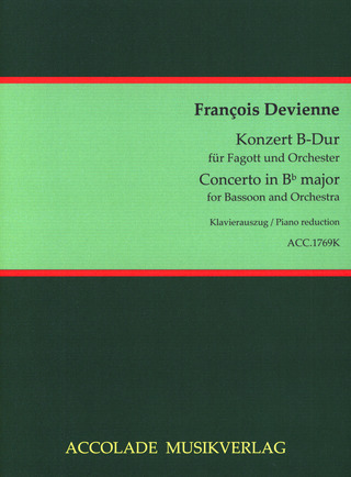 François Devienne: Concerto in B-flat major for Bassoon and Orchestra