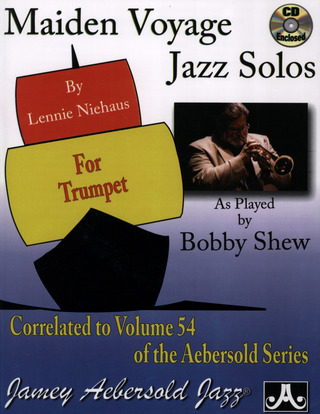 Lennie Niehaus: Maiden Voyage – Jazz Solos for Trumpet