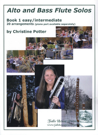 Potter Christine: Alto And Bass Flute Solos 1