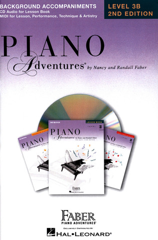 Randall Faber et al.: Nancy & Randall Faber: Piano Adventures® Lesson Book CD Level 3B