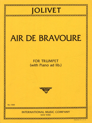 André Jolivet: Air De Bravoure
